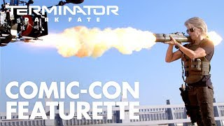 Terminator: Dark Fate – San Diego Comic-Con Featurette (2019) - Paramount Pictures