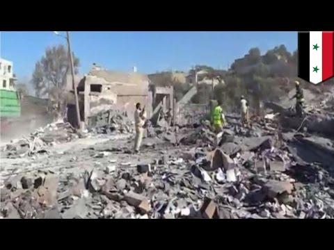 Syria Crisis: U.S. airstrikes target Al-Qaeda-linked militants Khorasan