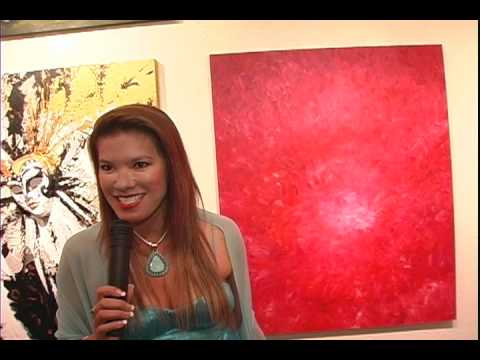 Art Fusion Galleries -A special VIP at Inner Vision Reception