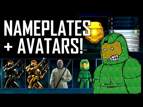 Halo: The Master Chief Collection - New Avatars & Nameplates