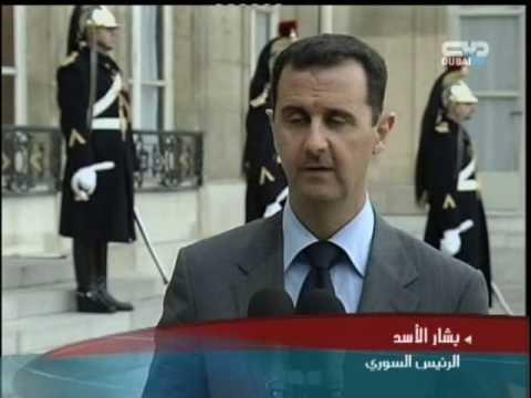 في باريس..بشار الأسد يدير ظهره لنتنياهو