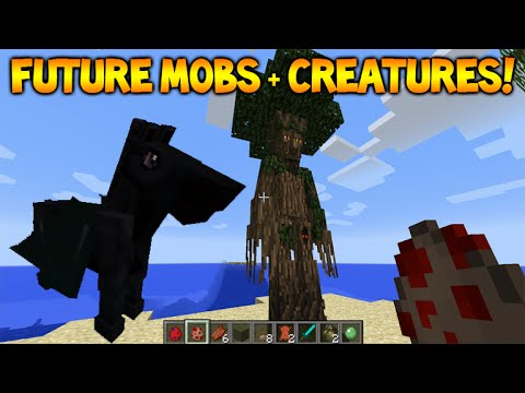 Minecraft Future Mobs - Animals, Creatures & Mythical Creatures (Future Features)