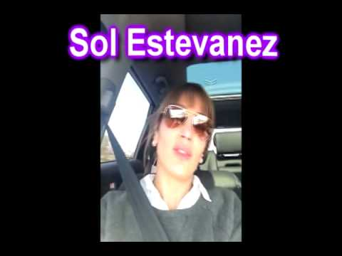 Sol Estevanez - Saludando por mi cumpleaos