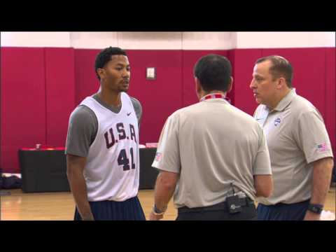 Wireless: Usa Basketball Training Camp Day 1 video
