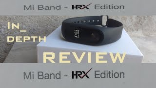 mi band Hrx edition in-depth review