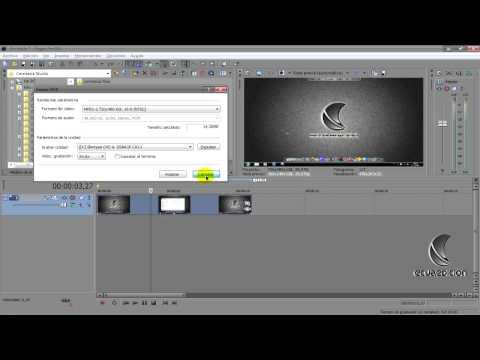 Tutorial Sony Vegas Pro parte 11 final (todo sobre renderizado y grabacion)