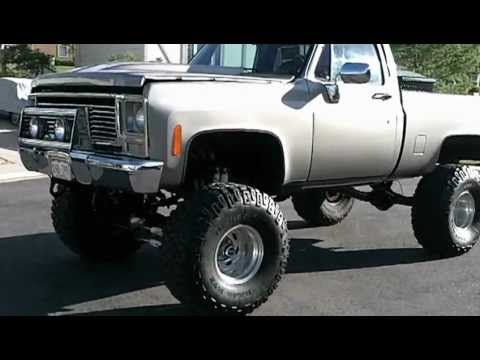 1979 Chevy K10 4x4 454 Lifted Youtube
