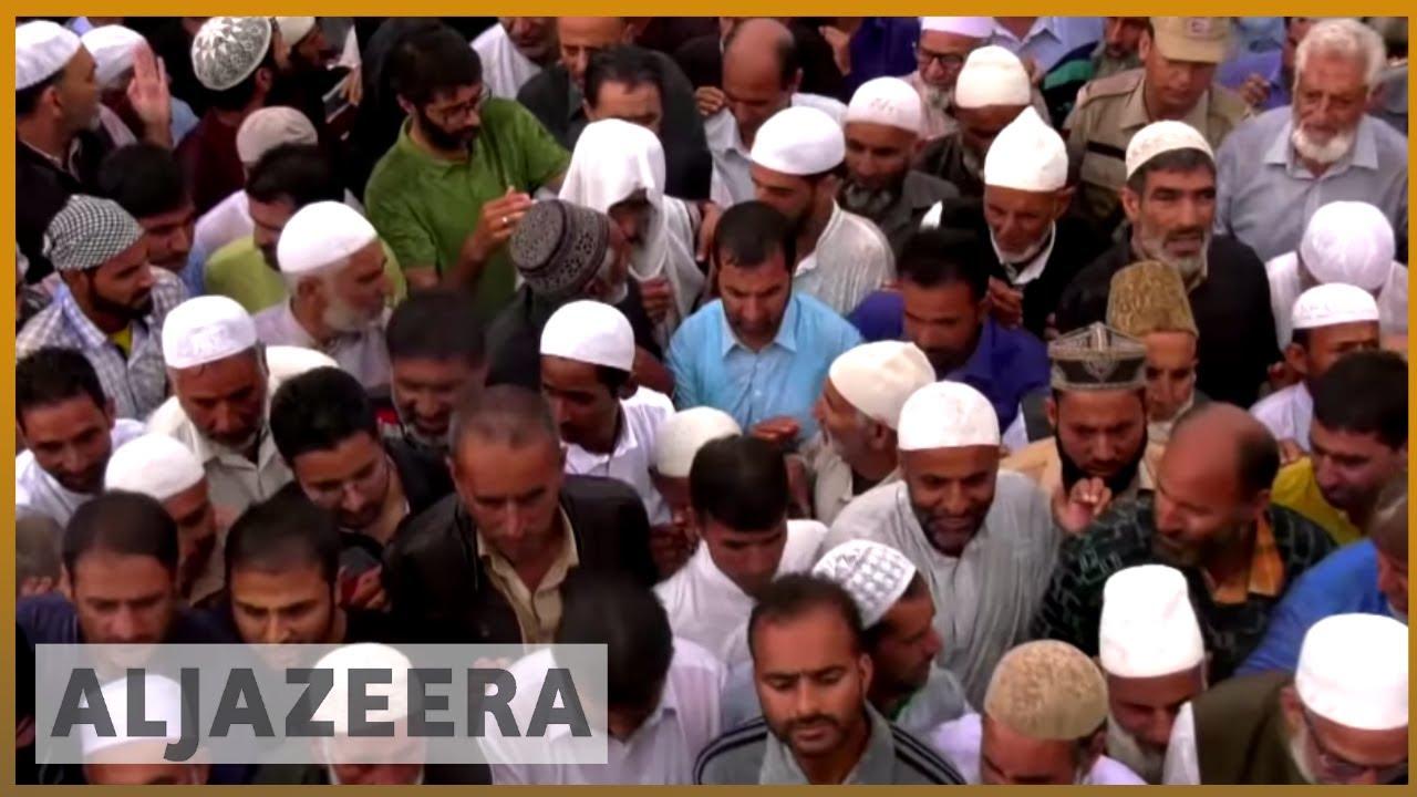 Kashmir killings during anti-India protests during Eid   Al Jazeera English