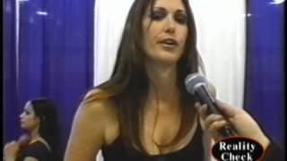 Aimee Sweet (Penthouse Pet) at Wonder Con 2004