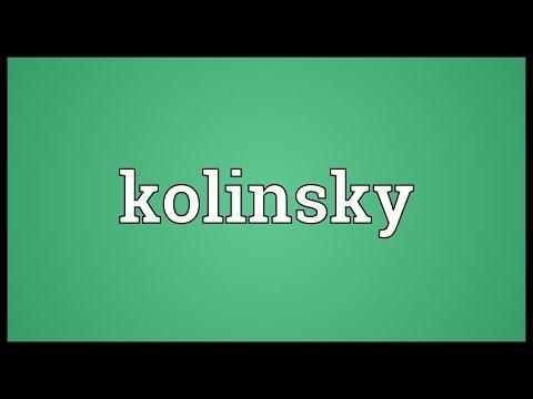 Header of kolinsky