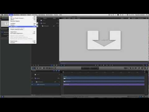 Ein Deinterlacing plug-in für FCPX mit Motion5