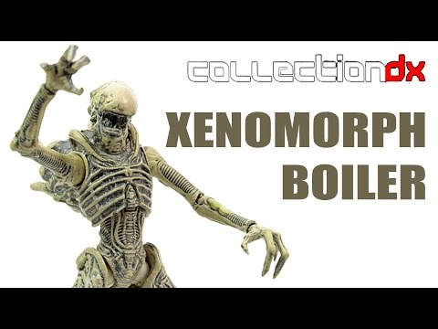 Hiya Toys Aliens Colonial Marines Xenomorph Boiler action figure review- CollectionDX
