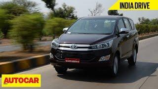 Toyota Innova Crysta | India Drive | Autocar India