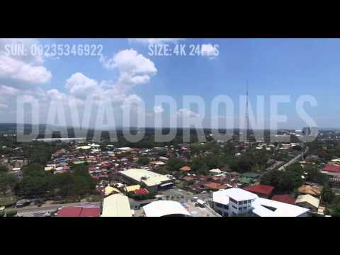 Aerial View Davao City Philippines