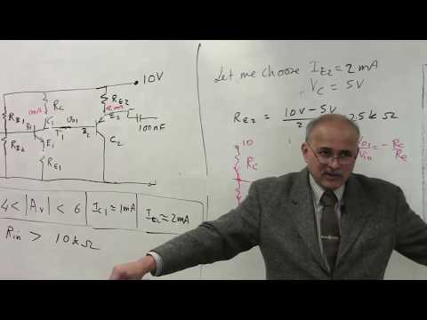 Lab Lecture of Design of Two stage Amplifier thumbnail