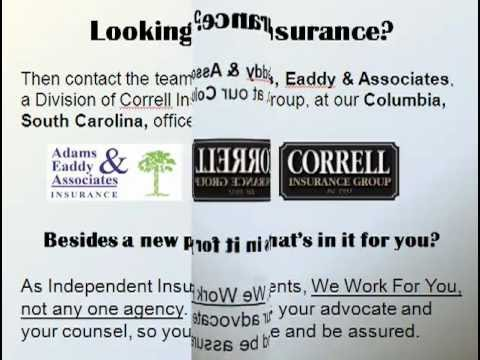 Find Auto Insurance, Homeowner's Insurance, and More at  Adams, Eaddy @ Associates in Columbia, SC
