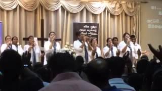 A Sinhala worship song Ha halleluyah-Shamila Rodri