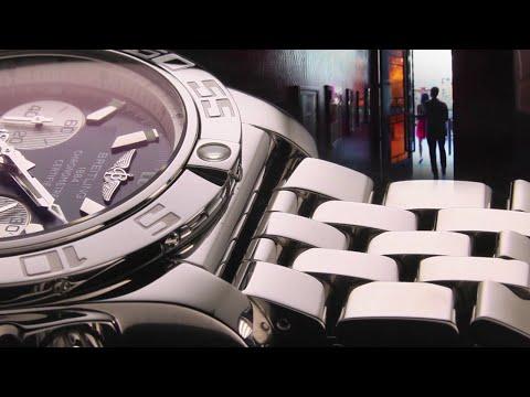 Super Factories: Breitling - 9 Watch Bracelet