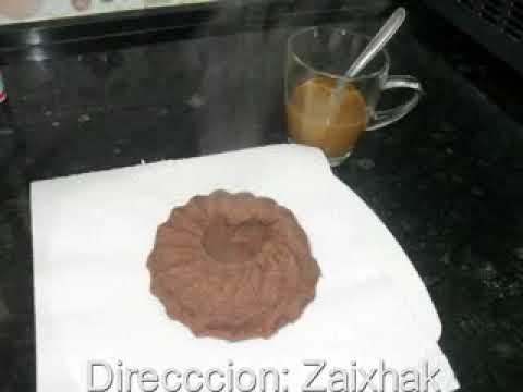 Receta magdalena chocolate Metodo Dukan