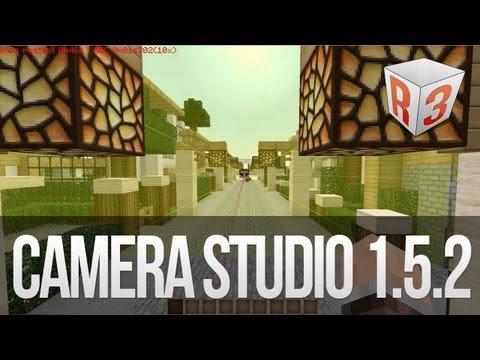 Camera Studio Minecraft 1.5.2 - Téléchargement et Installation avec démo du fonctionnement !