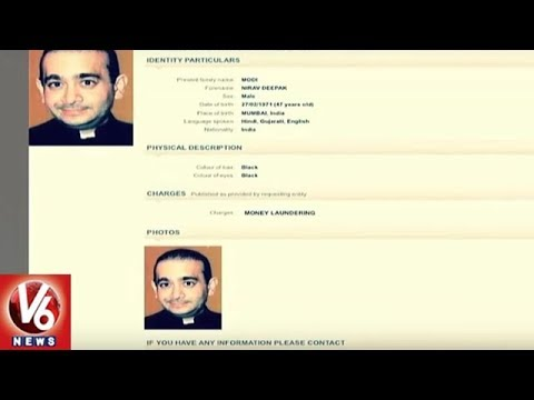 PNB Fraud: Interpol Issues Red Corner Notice Against Nirav Modi | V6 News