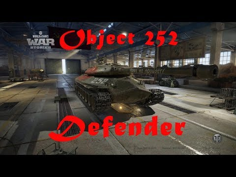 WOT Object 252 Defender 5K damage 6 Kills Tier 9 battle