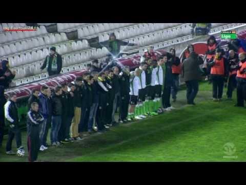 Racing Santander   Real Sociedad maçında tarihi protesto TG