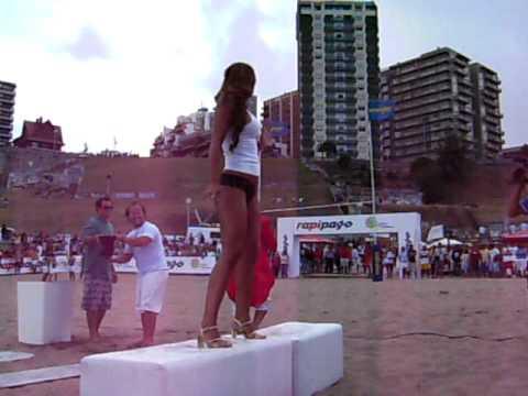 Remeras mojadas Playa Varese Mar del Plata 2009