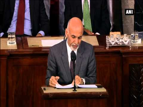 Afghan President Ghani says ISIS 'poses terrible threat' to western, central Asia