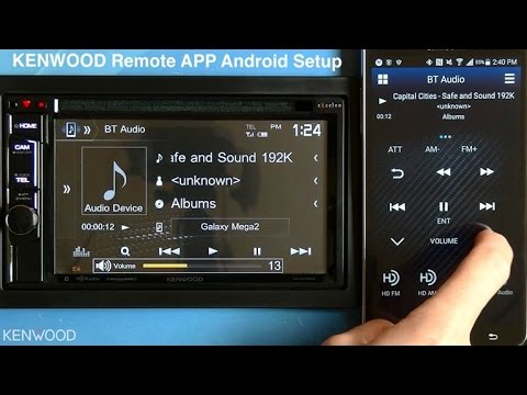 KENWOOD Remote App Setup for Android on 2017 Multimedia Receivers (DDX394. DDX594. DDX794)