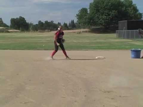 Holli McNeil Softball Tryout