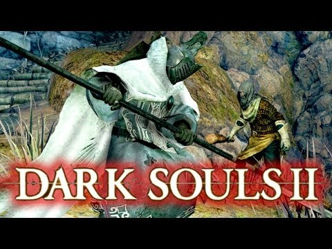 Dark Souls 2 Gameplay - Temple Knight