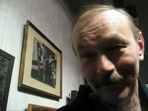 выставка круга Арефьева. Новый музей 03.11.2011 СПб
