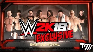 download lagu Wwe 2k18 Exclusive - Epic 8 Man Battle Royal gratis