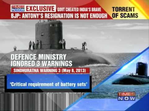 Navy warning letter exposes Defence Minister AK Antony