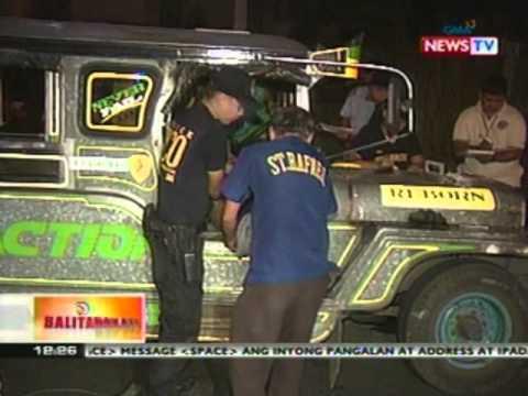 BT: 5 patay sa holdapan ng isang   pampasaherong jeep