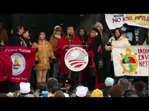 Forward on Climate- First Nations Canadians-Keystone XL- Tar Sands
