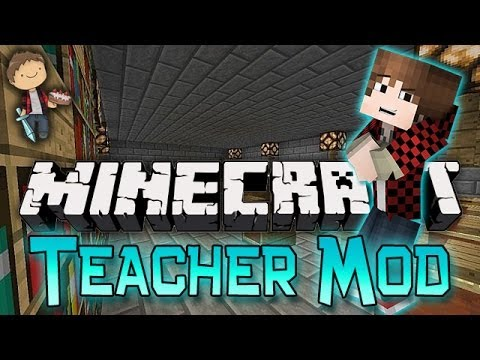 Minecraft: MODDED Teacher w/Mitch & Friends! Smart Moving Mod!