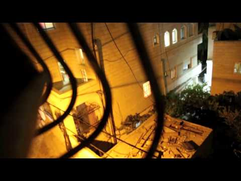 Aida Refugee Camp Night Raid, 7/21/14 Raw Video