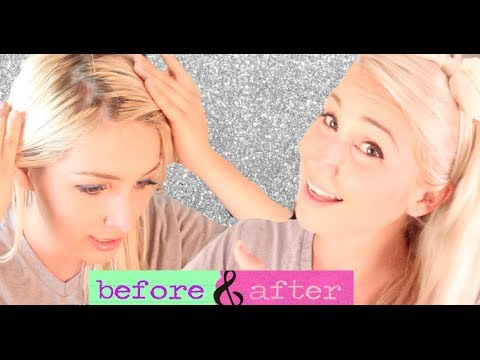 How to Dye Your Hair & Roots Blonde!