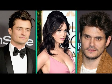 Katy Perry, Orlando Bloom and John Mayer Spotted at Adele's Concert Ahead of Valentine's Day
