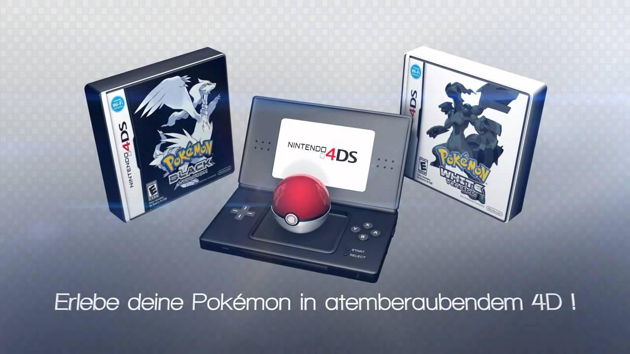 Nintendo 4ds Teaser 1 Pokemon Black And White Youtube