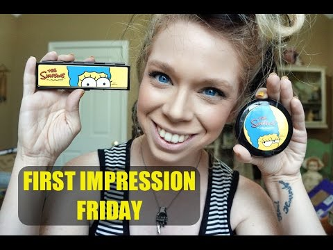 SIMPSONS MAC COLLECTION - FIRST IMPRESSION FRIDAY