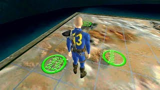 Playing Fallout (1997) In a 3D World