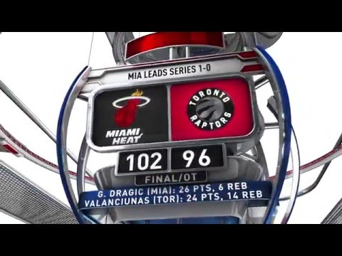 Miami Heat vs Toronto Raptors- May 3, 2016
