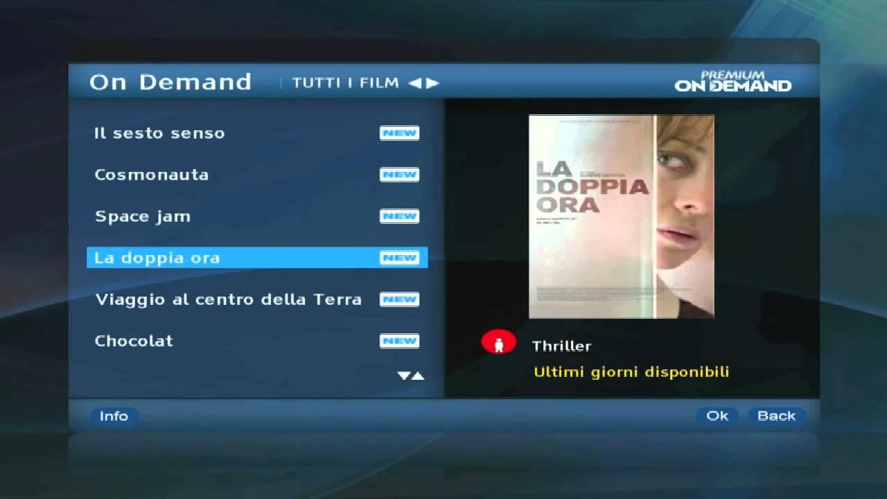 Premium on demand hd menu del decoder tele system for Premium on demand