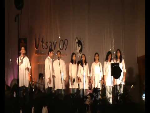 Utsav 2009-award Winning Group Song Vande Mataram video