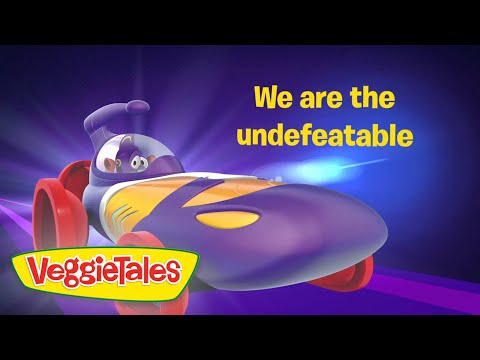 The League of Incredible Vegetables (Theme) -  Official Lyric Video - Newsboys