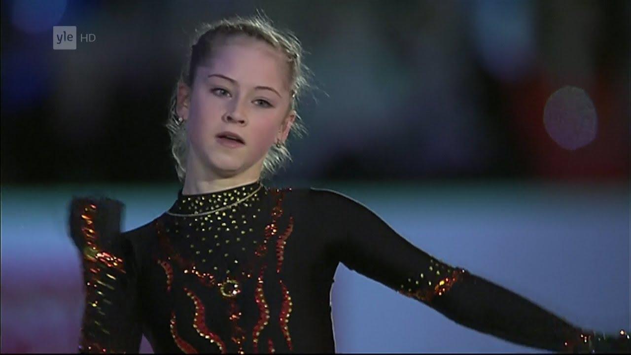 Figure Skating Lipnitskaia European Figure Skating