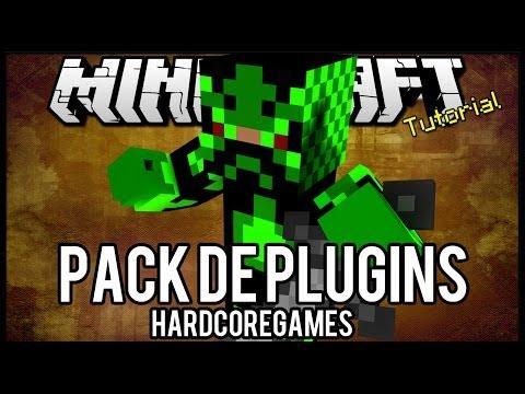 [Tutorial]Pack de Plugins #4 - HardcoreGames - Configurado + Download